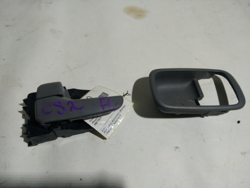 Ручка двери внутренняя Mitsubishi Lancer Cedia CS2A передняя левая (б/у)