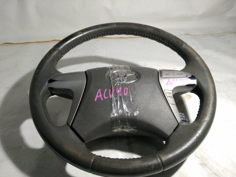 Руль с airbag Toyota Camry ACV40 2AZ (б/у)
