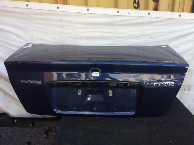Крышка багажника Mazda Familia BJ3P (б/у)