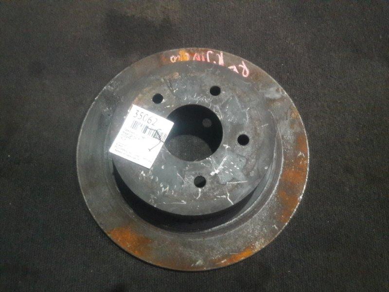 Тормозной диск Nissan Qashqai KJ10 задний (б/у)