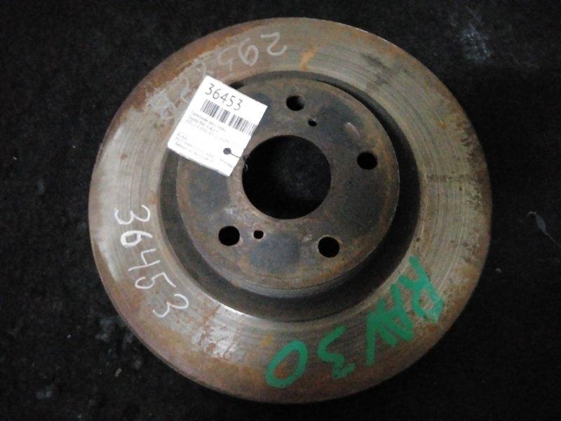 Тормозной диск Toyota Rav 4 ACA31 передний (б/у)