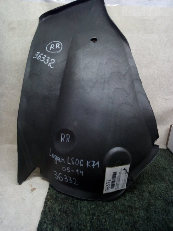 Защита крыла Renault Logan LS0G K7J 2005 задняя правая