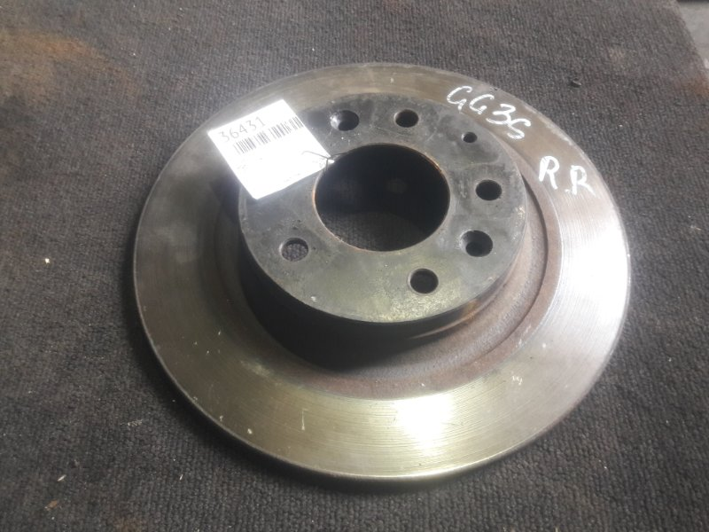 Тормозной диск Mazda Atenza GG3S задний (б/у)