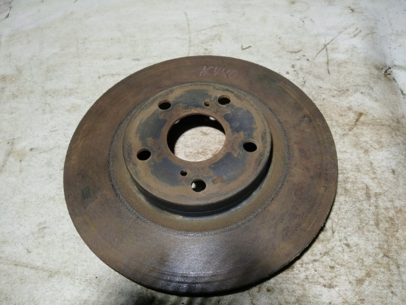 Тормозной диск Toyota Camry ACV40 2AZ передний (б/у)
