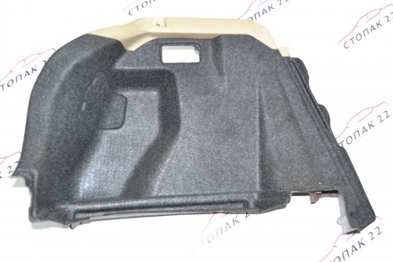 Обшивка багажника Toyota Runx NZE121 1NZ 2003 левая (б/у)