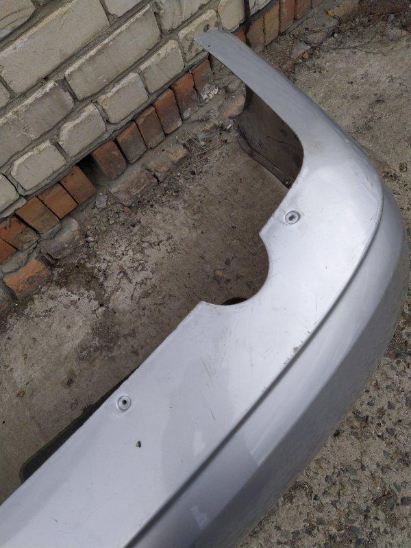 Бампер Chevrolet Aveo T200 2003 задний (б/у)