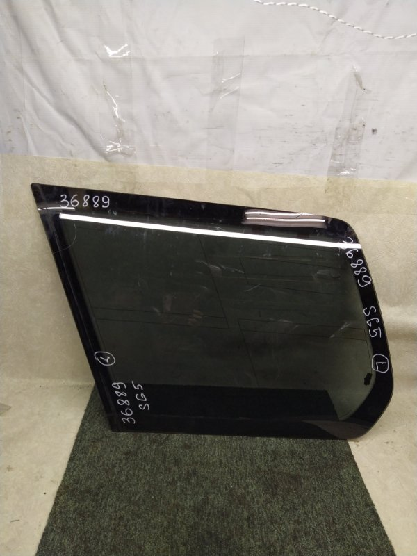 Стекло багажника Subaru Forester SG5 2002 левое (б/у)