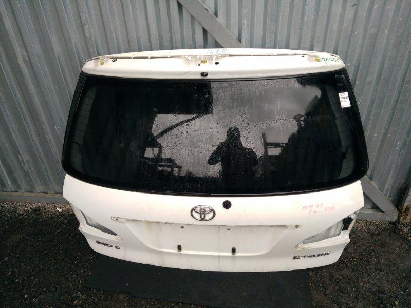 Дверь задняя Toyota Ipsum ACM26 (б/у)