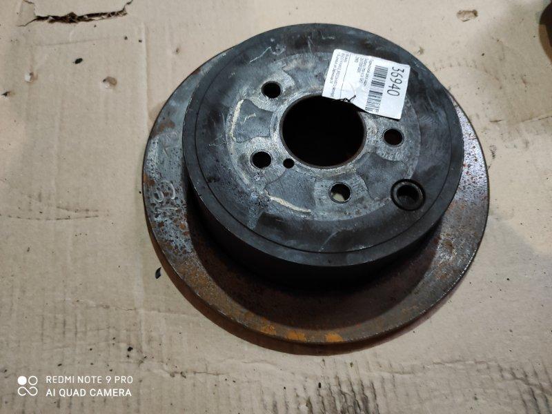Тормозной диск Subaru Impreza GH2 задний (б/у)