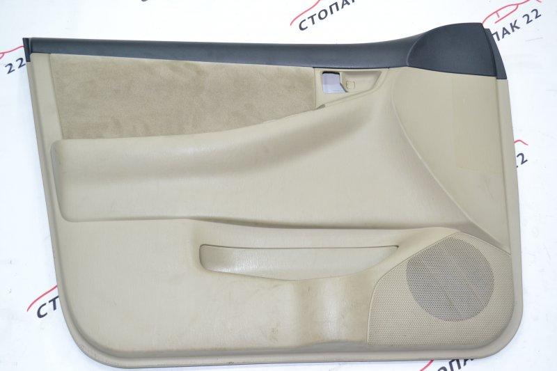 Обшивка двери Toyota Corolla NZE120 1NZ 2000 передняя левая (б/у)