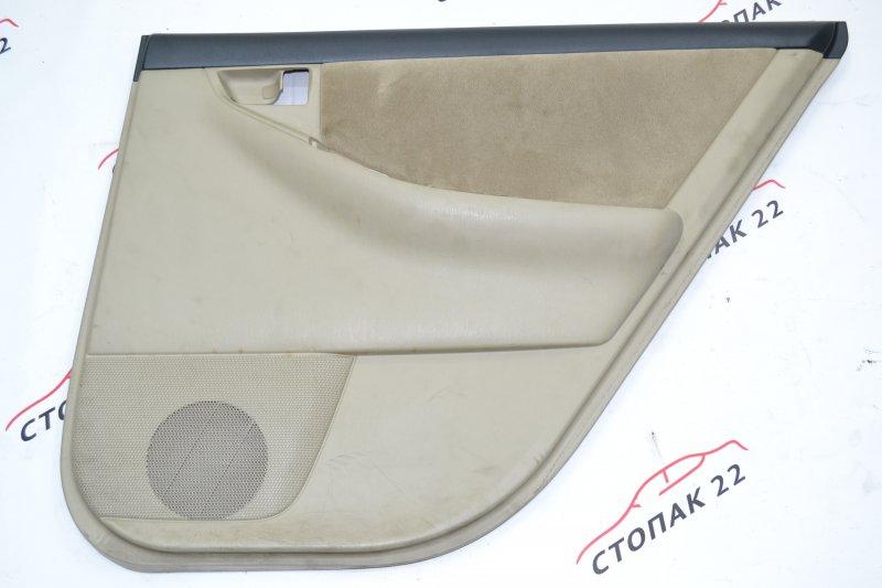 Обшивка двери Toyota Corolla NZE120 1NZ 2000 задняя правая (б/у)