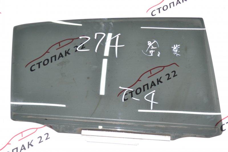 Стекло двери Toyota Runx NZE120 1NZ 2000 заднее правое (б/у)