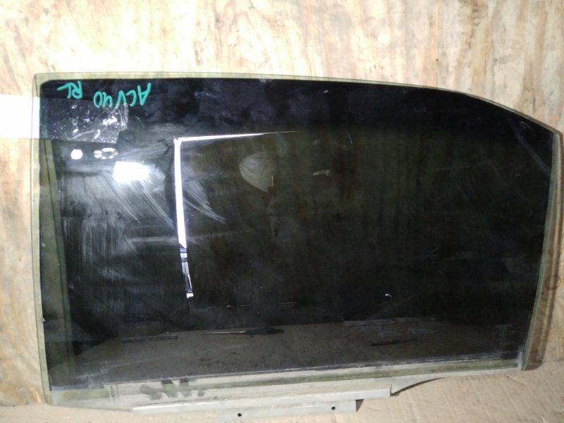 Стекло Toyota Camry ACV40 2AZ заднее левое (б/у)