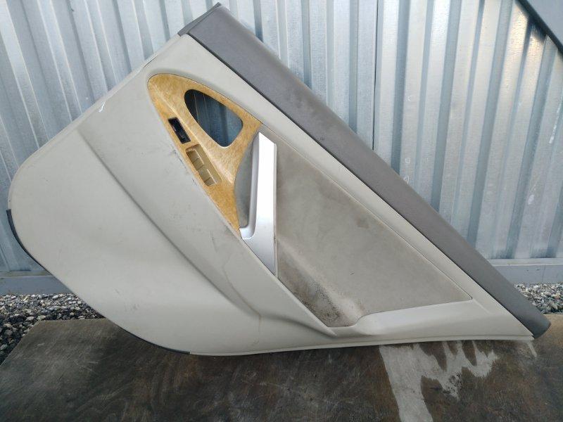 Обшивка двери Toyota Camry ACV40 2AZ задняя правая (б/у)