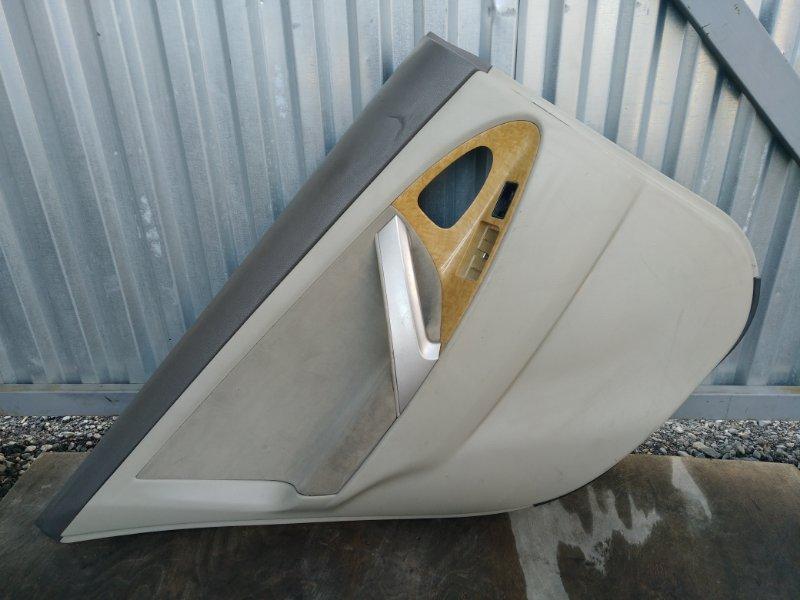 Обшивка двери Toyota Camry ACV40 2AZ задняя левая (б/у)