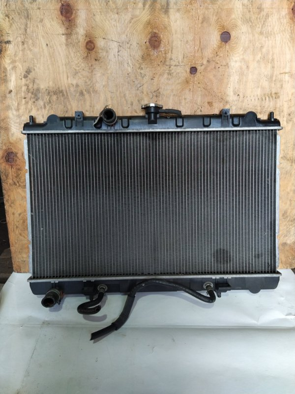 Радиатор двс Nissan Avenir W11 QG18 (б/у)