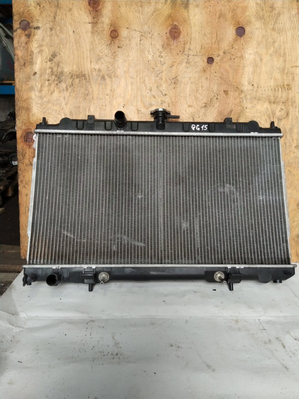 Радиатор двс Nissan Ad Y11 QG15 1998 (б/у)