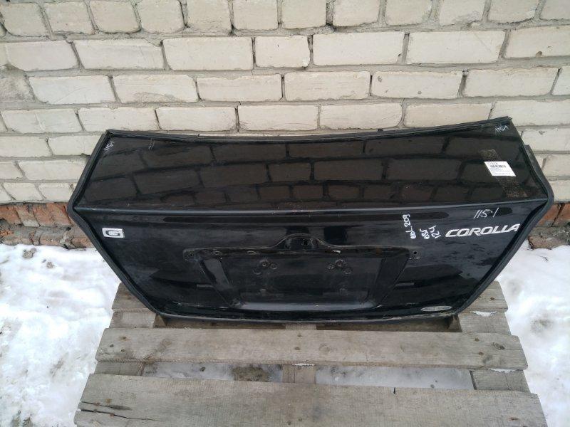 Крышка багажника Toyota Corolla NZE120 (б/у)
