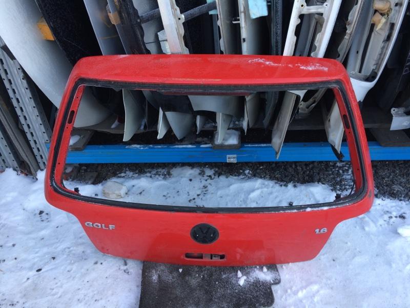 Дверь задняя Volkswagen Golf MK4 1997 (б/у)