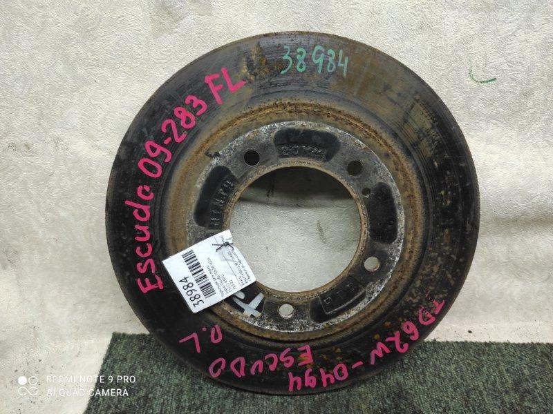Тормозной диск Suzuki Escudo TD62W H25A передний (б/у)