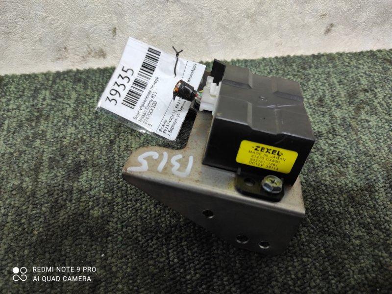 Блок управления печкой Nissan Sunny B15 (б/у)