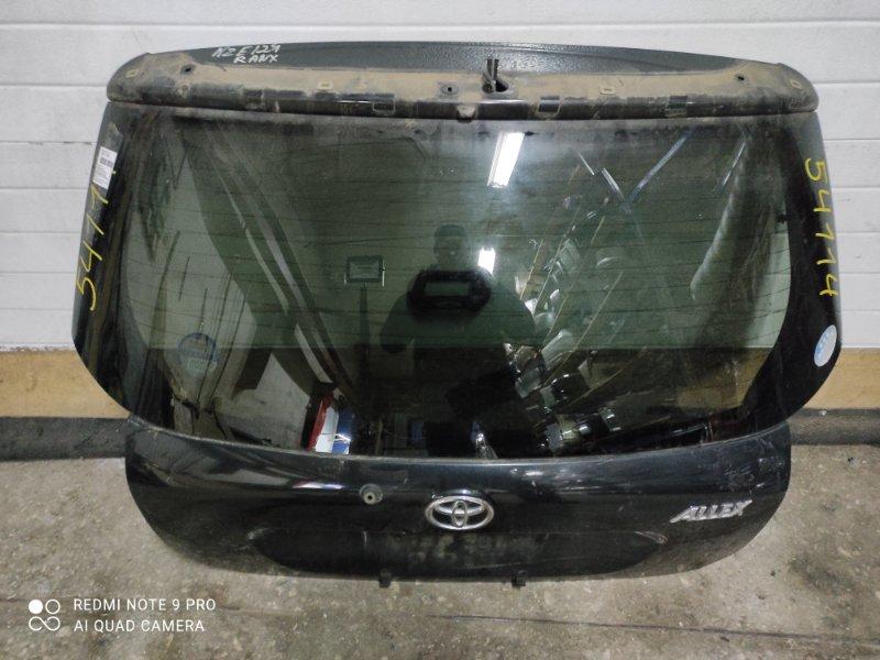 Дверь задняя Toyota Allex NZE121 (б/у)