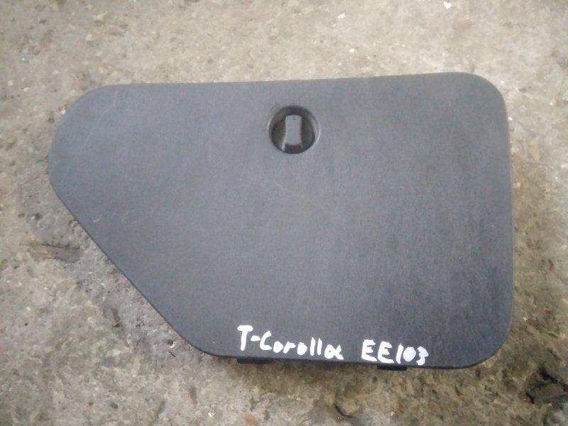 Лючок панели багажника Toyota Corolla AE111 правый (б/у)