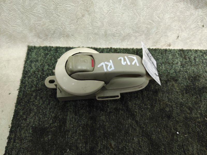 Ручка двери внутренняя Nissan March AK12 задняя левая (б/у)