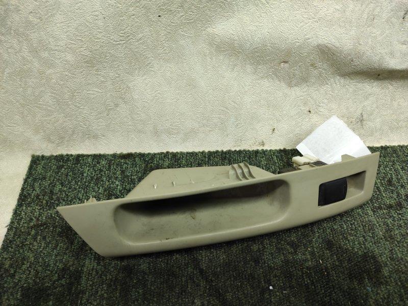 Кнопка стеклоподъемника Nissan March AK12 задняя левая (б/у)