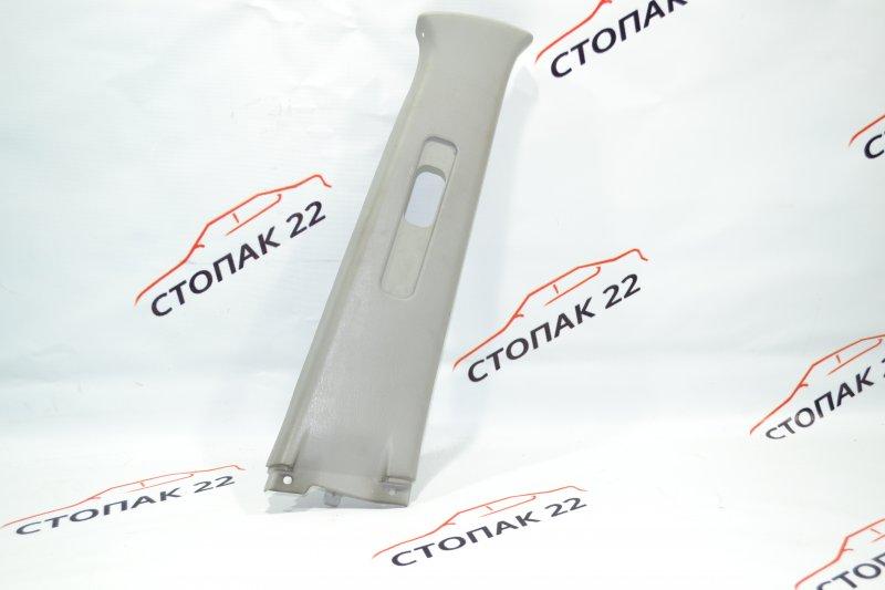 Накладка средней стойки Toyota Corolla NZE120 1NZ 2000 правая нижняя (б/у)