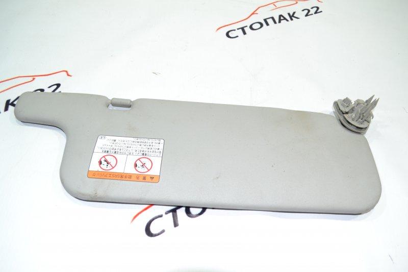 Козырек солнцезащитный Toyota Corolla NZE120 1NZ 2000 левый (б/у)