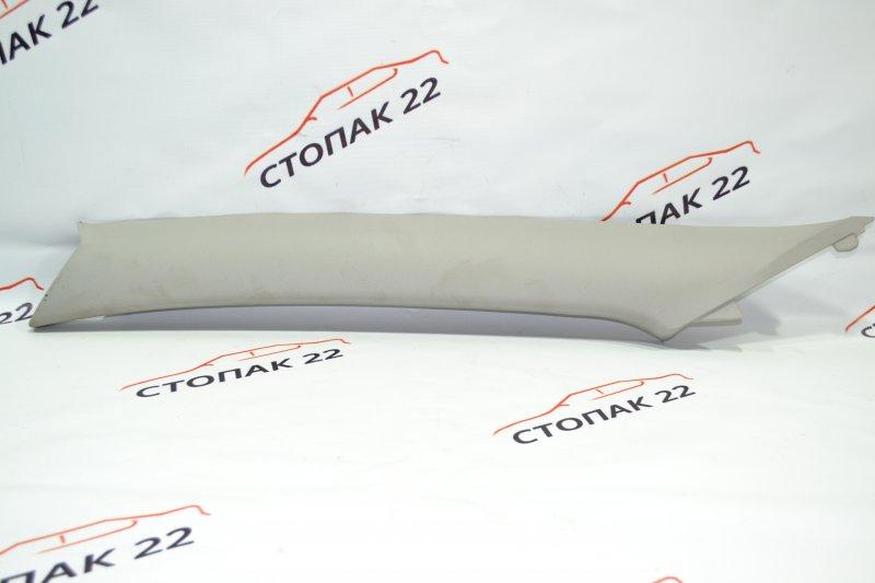 Накладка на стойку кузова Toyota Corolla NZE120 1NZ 2000 передняя левая верхняя (б/у)