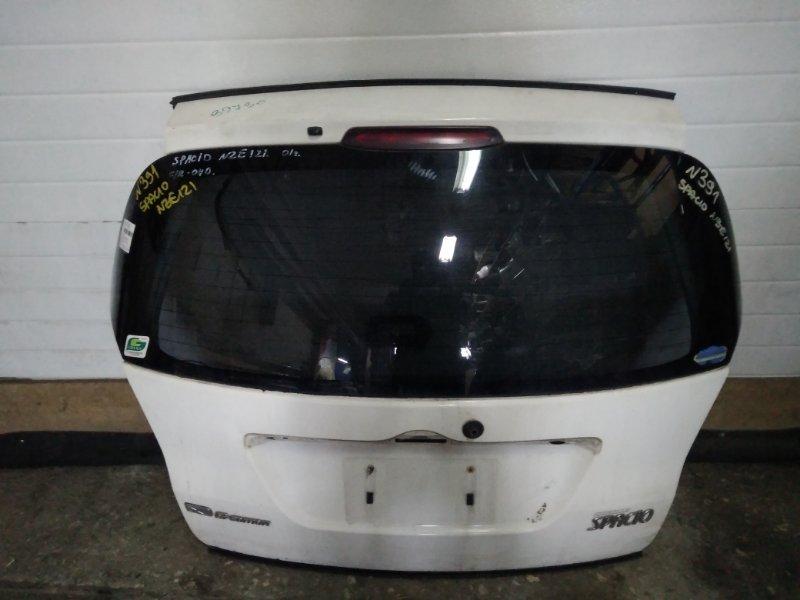 Дверь задняя Toyota Corolla Spacio NZE121 (б/у)