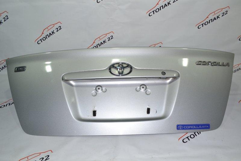 Крышка багажника Toyota Corolla NZE120 1NZ 2000 (б/у)