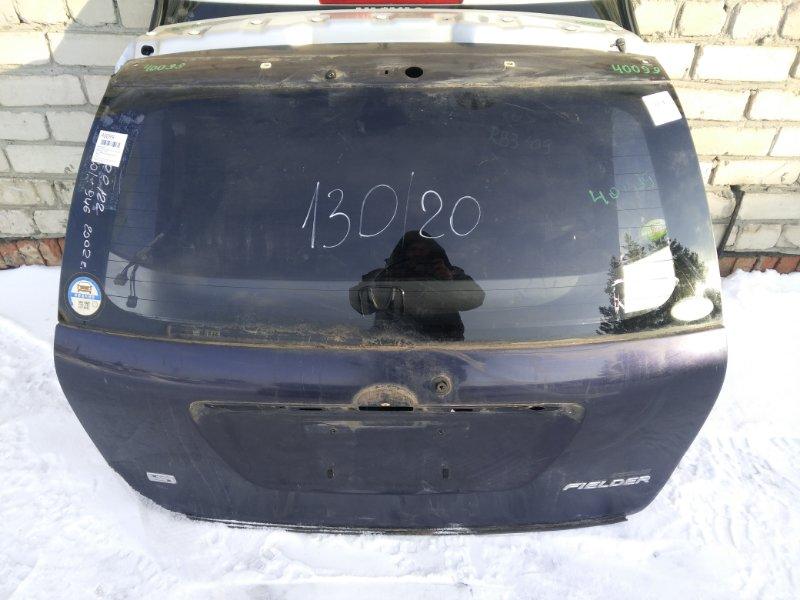 Дверь задняя Toyota Corolla Fielder NZE121 2002 (б/у)