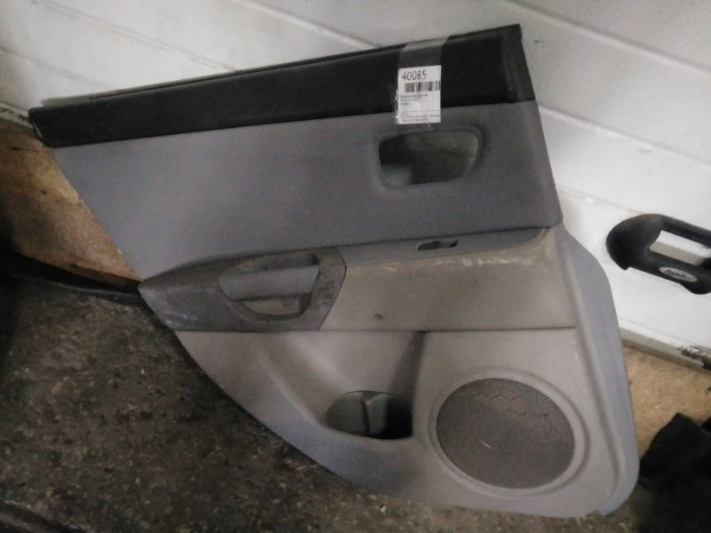 Обшивка двери Mazda Axela BK5P задняя левая (б/у)