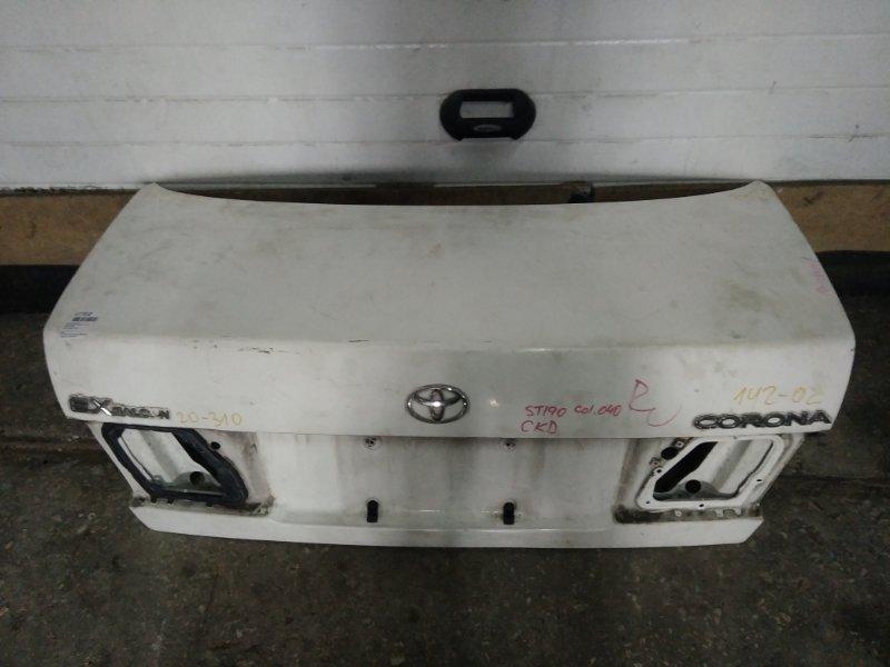 Крышка багажника Toyota Corona ST190 1994 (б/у)