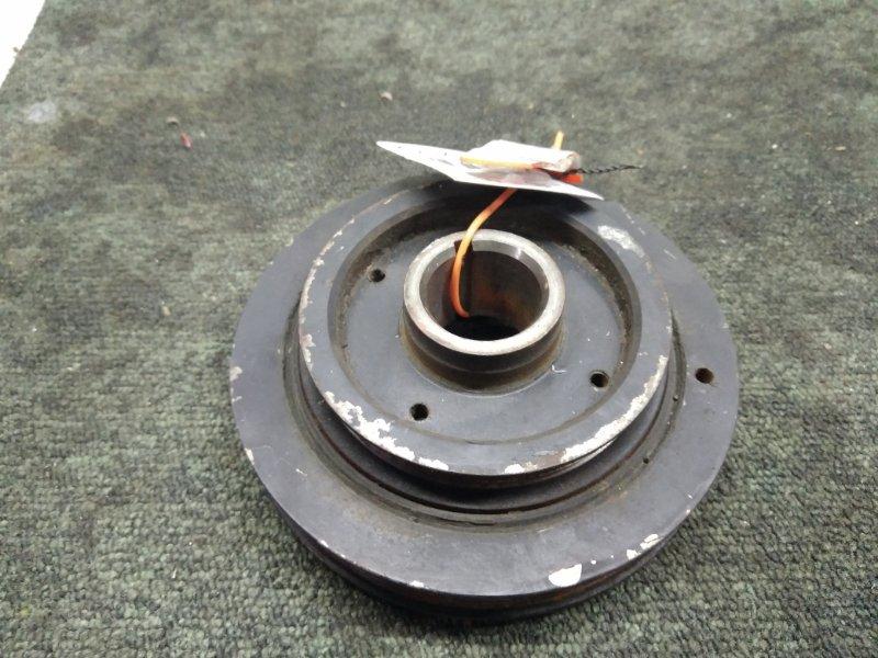 Шкив коленвала Toyota Caldina ST190 3S (б/у)