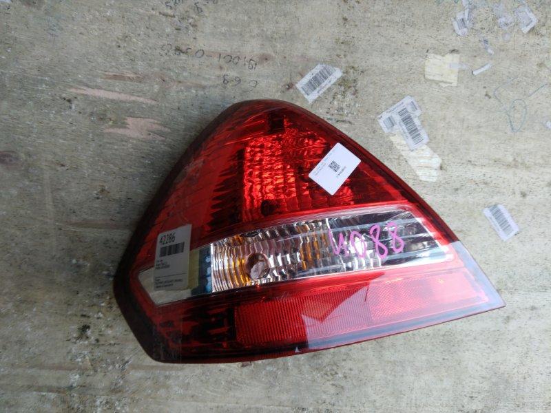 Стоп Nissan Tiida C11 левый (б/у)