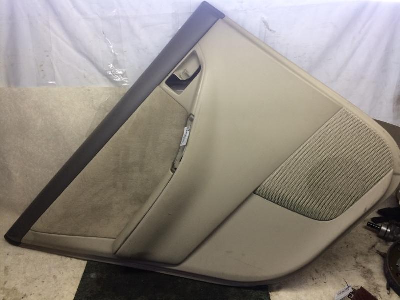 Обшивка двери Toyota Corolla NZE121 задняя левая (б/у)