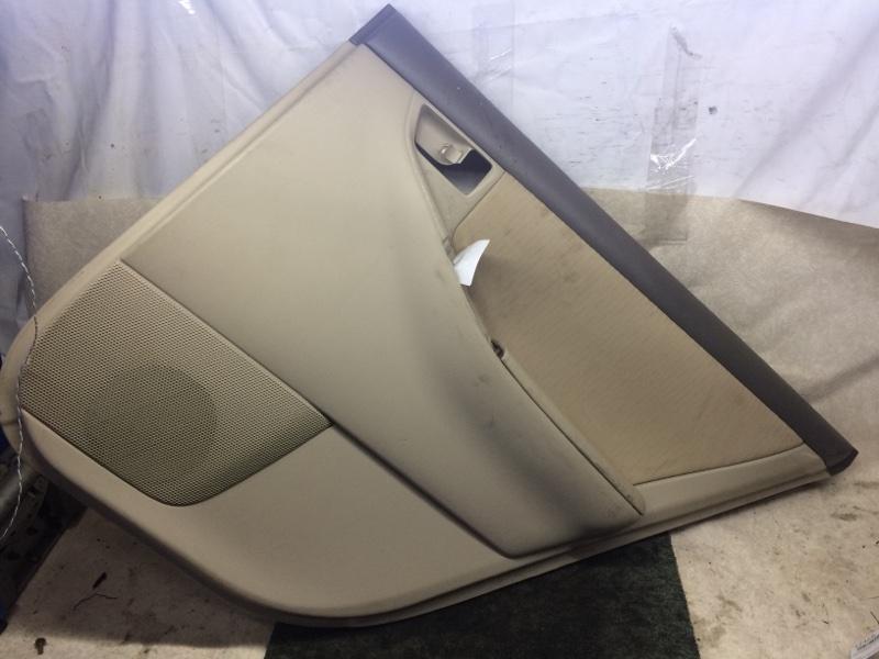 Обшивка двери Toyota Corolla NZE121 задняя правая (б/у)
