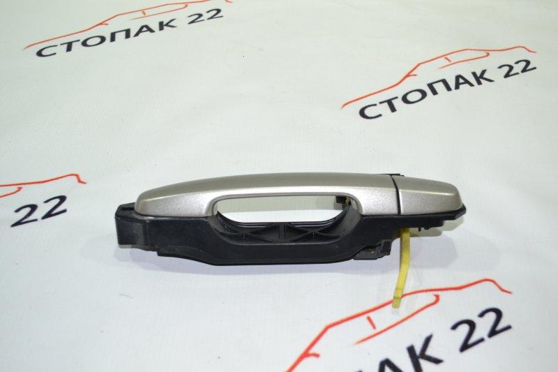 Ручка двери Toyota Corolla NZE121 1NZ 2001 задняя левая (б/у)