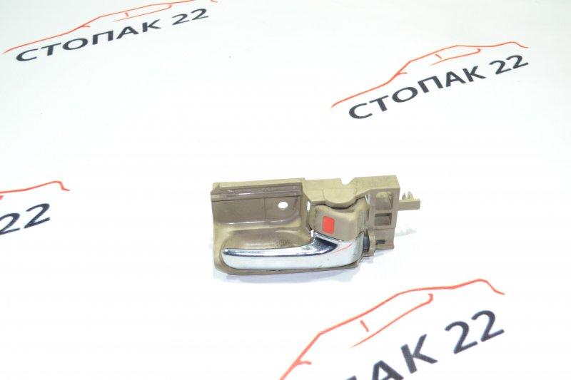 Ручка двери внутренняя Toyota Corolla NZE121 1NZ 2001 правая (б/у)