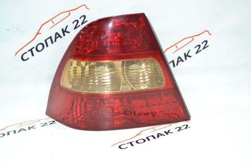 Стоп Toyota Corolla NZE121 1NZ 2001 левый (б/у)