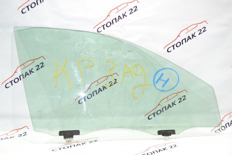 Стекло двери Toyota Corolla NZE121 1NZ 2001 переднее правое (б/у)