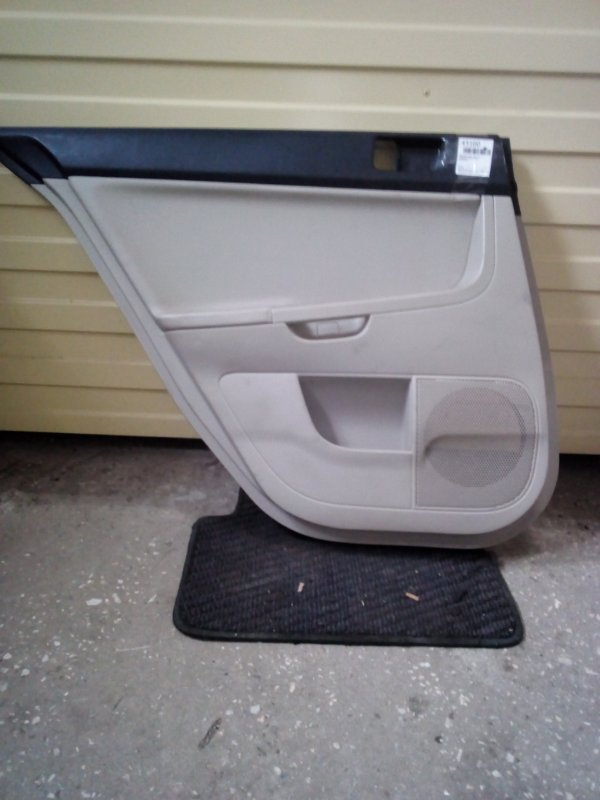 Обшивка двери Mitsubishi Lancer CY4A задняя левая (б/у)