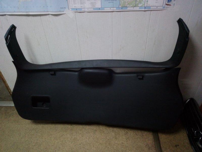 Обшивка двери багажника Nissan Qashqai J10 (б/у)