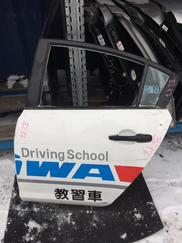 Дверь Mazda Axela BK3P задняя левая (б/у)