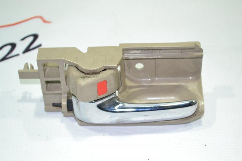 Ручка двери внутренняя Toyota Corolla NZE121 1NZ 2001 левая (б/у)