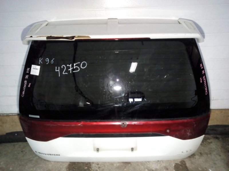 Дверь задняя Mitsubishi Challenger K96W (б/у)